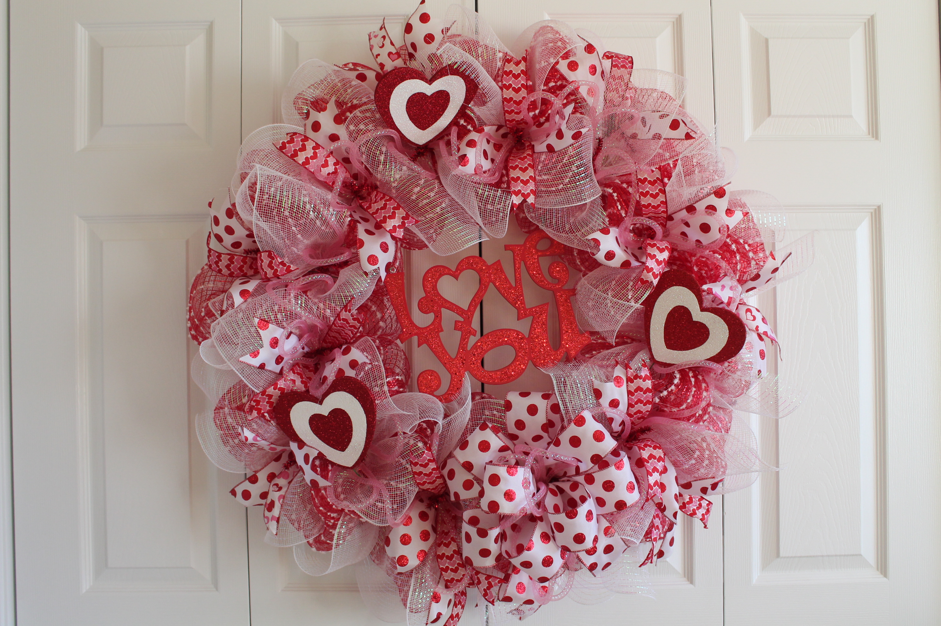 Img 2285. WOW! This Is A Valentineu0027s Day Wreath ...