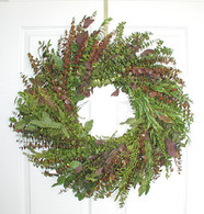 Blush Eucalyptus Wreath - 24 inch