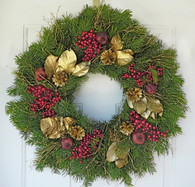 Canella Berry & Pomegranate Seasonal Wreath