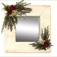 Camilles Garden Deco Mirror - 10 in