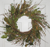 Catskill Mountain Eucalyptus Wreath - 17 inch