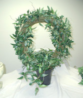 ChÌÎÌ__ÌÎå«Ì´å¢teau Fremont Table Wreath - Silk - 22 in