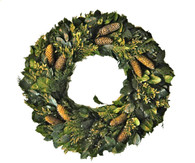 Chateau Holiday Wreath - 30 inch
