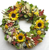 Crestline Autumn Wreath 30 inch