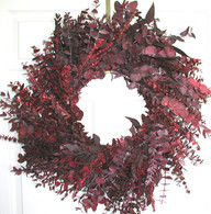 Crimson Tide Eucalyptus Wreath - 24 inch