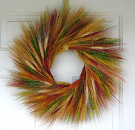 Desert Paint Wheat Wreath 19 in.