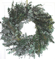 Emerald Bay Eucalyptus Wreath - 24 in