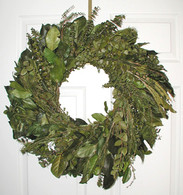 Enchanted Forest Eucalyptus Wreath - 24 inch