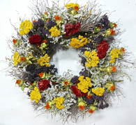 Endless Summer Wreath 17-18 in