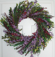 Evening Twilight Eucalyptus Wreath - 24 inch