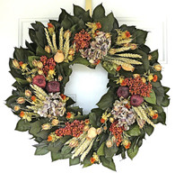 Fall Medley Wreath - 22 in.