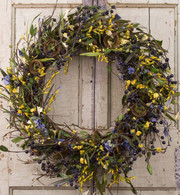 Florence Silk Door Wreath - 22 inch