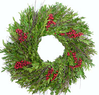 Fresh Berry Christmas Wreath