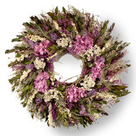 Fuchsia Sunrise Wreath - 24 inch
