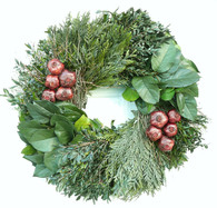 Hudson Holiday Winter Wreath 22 in