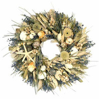 Lavender Bay Wreath - 18 inch