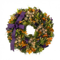 Maties Fall Flair Wreath - 18 in