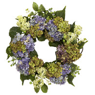 Marvel Hydrangea Door Wreath - 18 inch