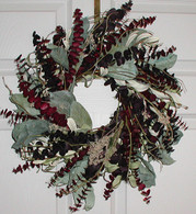Morningstar Eucalyptus Wreath - 17 inch