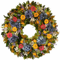 Nana's Cottage Wreath - 28 in