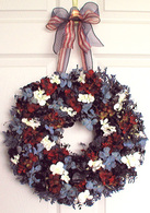Freedom Wreath - 16 in