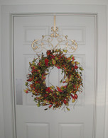 Parisian Wreath Hanger