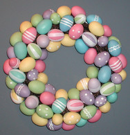 Peter Cottontail Wreath - 16 inch