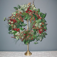 Prancer Wreath Stand 18-29 inch