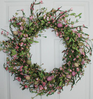 Spring Surprise Silk Wreath - 22 inch