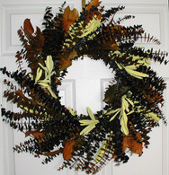 Sunset Eucalyptus Wreath - 24 inch