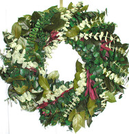 Sunrise Safari Eucalyptus Wreath - 24 inch