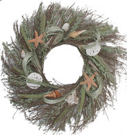 Summer Shore Wreath - 22-24 inch