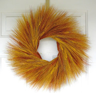 Sunset Wheat Wreath 19 in