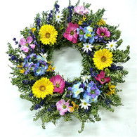 Tisbury Lane Summer Wreath 22 in