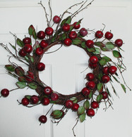 Apple Orchard Wreath - 18 inch