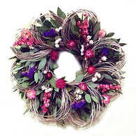 Woodbury Garden Loop Wreath - 19 inch