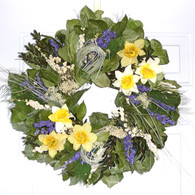 Wonderland Spring Wreath - 22 in