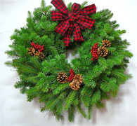 Northwood Country Fresh Evergreen Wreath 24 in