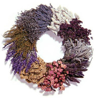 Dried Herb Kitchen Wreath 18 in