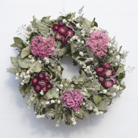 Dried Flower Hydrangea Wreath