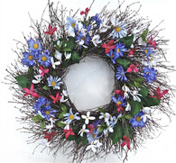 Carolina Summer Door Wreath 22 in