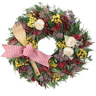 La Cucina Herb Kitchen Wreath 18 inch