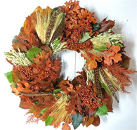 Portsmouth Harvest and Berry Autumn Wreath 22 inch