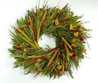 Arapahoe Decorative Floral Wreath 22 inch