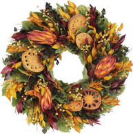 Indian Harvest Autumn Wreath