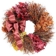 Royal Maple Medley Decorative Wreath
