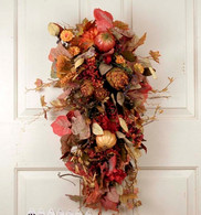 Nantucket Autumn Harvest Swag 28 in