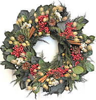 Davenport Berry Holiday Wreath 22 in
