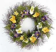 Imperial Woods Front Door Wreath 22 in