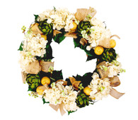 Kenwick Artichoke Silk Spring Door Wreath